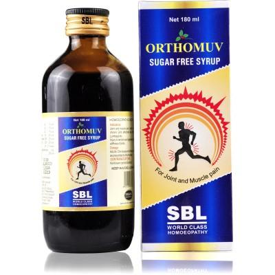 SBL Homeopathy Orthomuv Sugar Free Syrup
