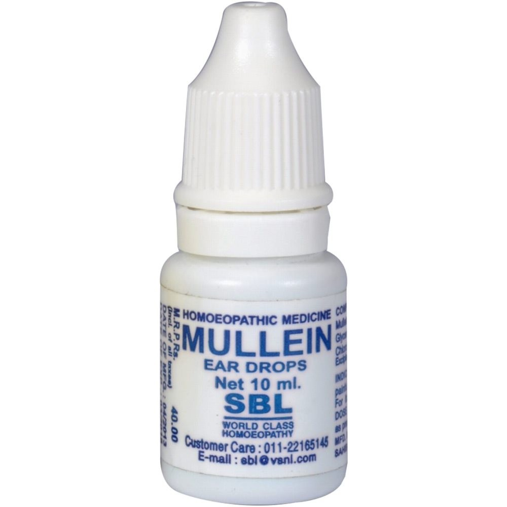 SBL Homeopathy Mullein Ear Drops