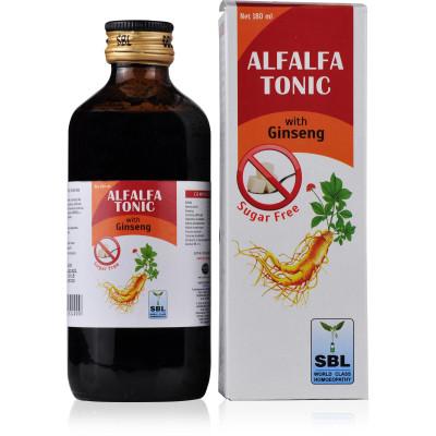 SBL Homeopathy Alfalfa Tonic With Ginseng