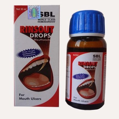 SBL Homeopathy Rinsout Drops Mouthwash