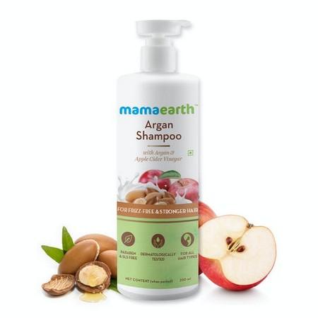 Mamaearth Argan Shampoo with Argan and Apple Cider Vinegar