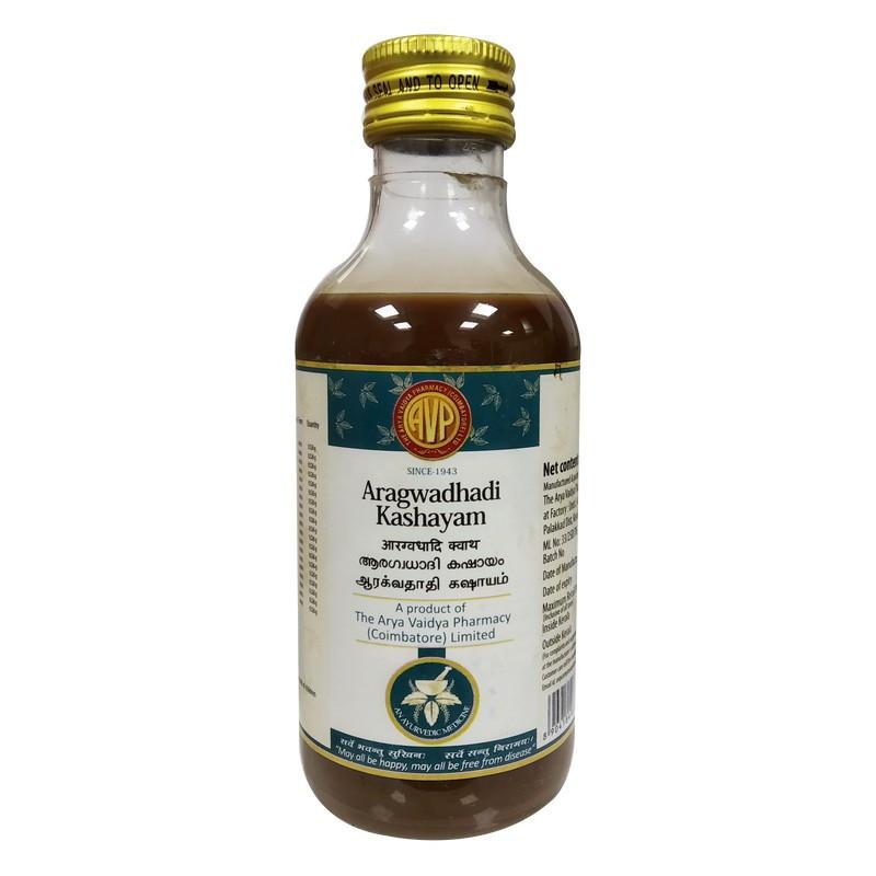 Arya Vaidya Pharmacy Aragwadhadi Kashayam