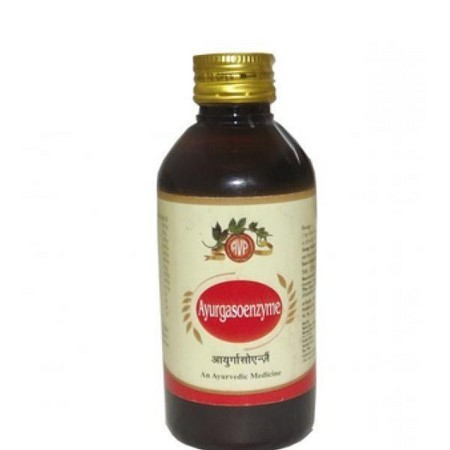 Arya Vaidya Pharmacy Ayurgasoenzyme Syrup
