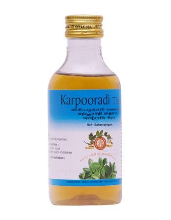 Arya Vaidya Pharmacy Karpooradi Thailam
