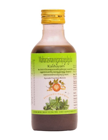 Arya Vaidya Pharmacy Maharasnayogarajagulgulu Kashayam