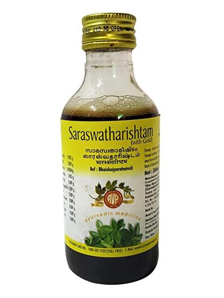 Arya Vaidya Pharmacy Saraswatharishtam Gold