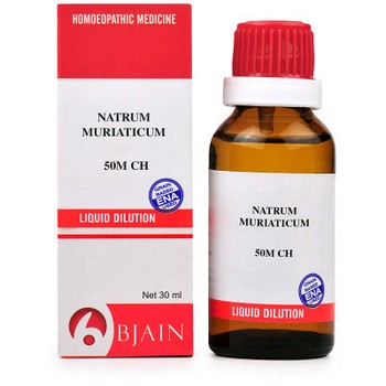 B Jain Natrum Muriaticum 50M CH Dilution