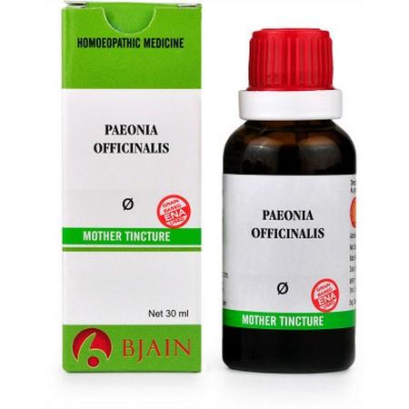 B Jain Paeonia Officinalis Mother Tincture Q