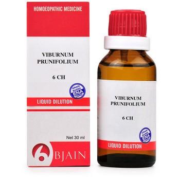 B Jain Viburnum Prunifolium 6 CH Dilution