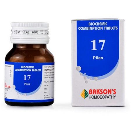 Bakson Biochemic Combination 17