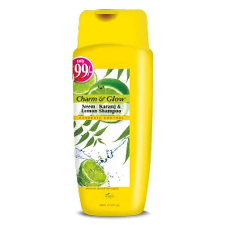 Banlabs Charm and Glow Neem Karanj and Lemon Shampoo