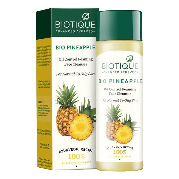 Biotique Pineapple Fresh Foaming Cleansing Gel