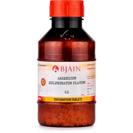 Bjain Arsenicum Sulphuratum Flavum 6X
