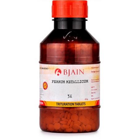 Bjain Ferrum Metallicum 3X