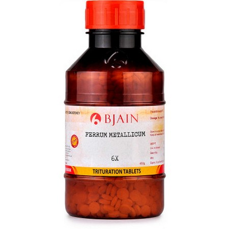 Bjain Ferrum Metallicum 6X