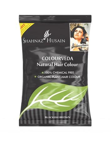 Shahnaz Husain Colourveda Natural Hair Colour - Blackish Brown