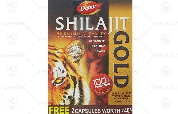 Dabur Shilajit Gold and Kesar Capsules