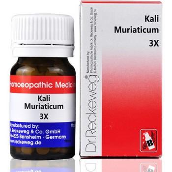 Dr. Reckeweg Kali Muriaticum 3X
