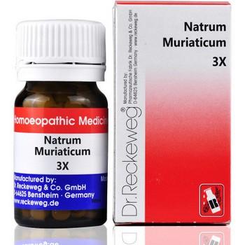 Dr. Reckeweg Natrum Muriaticum 3X