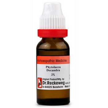 Dr. Reckeweg Phytolacca Dec 3x Dilutions