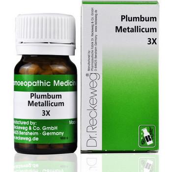 Dr. Reckeweg Plumbum Metallicum 3X