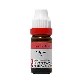 Dr. Reckeweg Sulphur 3x  Dilution