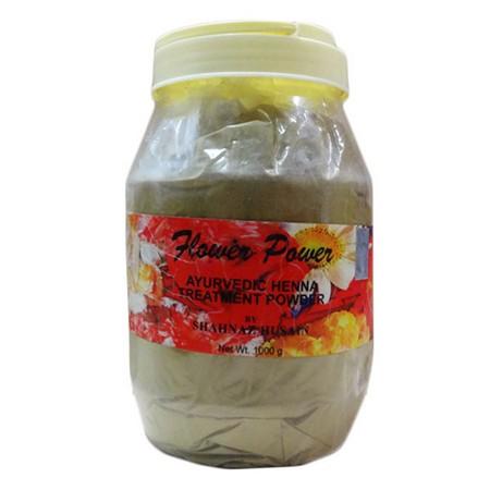 Shahnaz Husain Flower Power Ayurvedic Henna Treatment Powder