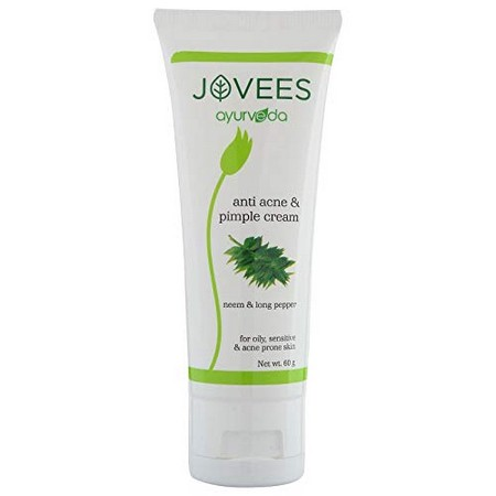 Jovees Neem and Long Pepper Anti Acne Pimple Cream