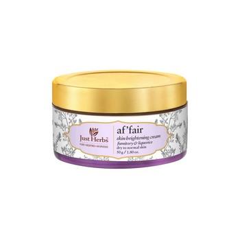 Just Herbs Af Fair Fumitory Liquorice Skin Brightening Night cream