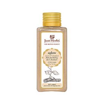 Just Herbs Aglow Neem Chandan Skin Purifying Face Cleansing Powder
