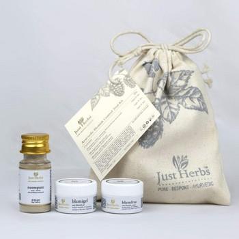 Just Herbs Ayurvedic Blemish Control Trial Kit