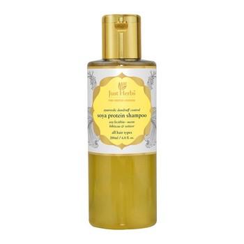 Just Herbs Dandruff Control Ayurvedic Soya Protein Herbal Shampoo