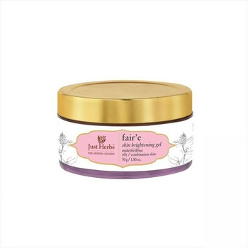 Just Herbs Fair e Mulethi Khus Skin Brightening Night Gel