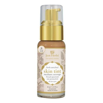 Just Herbs Herb Enriched Skin Tint Deep sand