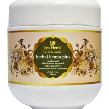 Just Herbs Herbal Henna Plus