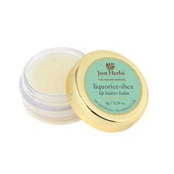 Just Herbs Liquorice Shea Lip Butter Balm