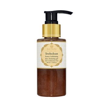 Just Herbs Livelyclean Honey Exfoliating Cleansing Gel