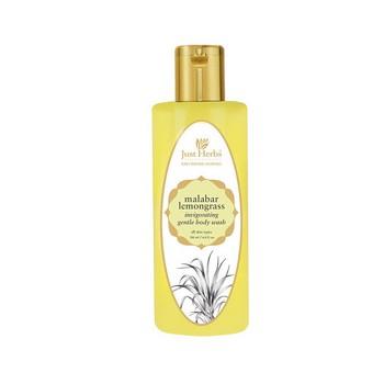 Just Herbs Malabar Lemongrass Body wash