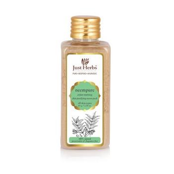 Just Herbs Neempure Arjun Nutmeg Skin Purifying Neem Pack