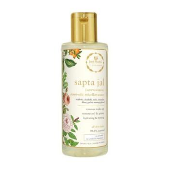 Just Herbs Sapta Jal Ayurvedic Micellar Water Makeup Remover