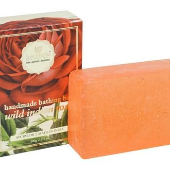 Just Herbs Wild Indian Rose Ayurvedic Handmade Bathing bar