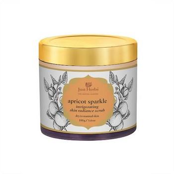 Just herbs Apricot Sparkle Invigorating Skin Exfoliating Scrub