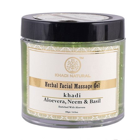 Khadi Aloevera Neem And Basil Face Massage Gel