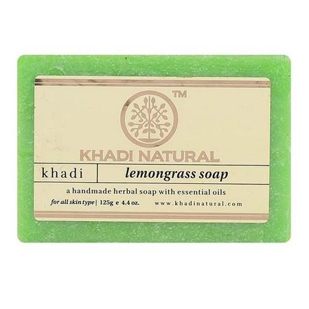 Khadi Herbal Lemongrass Soap