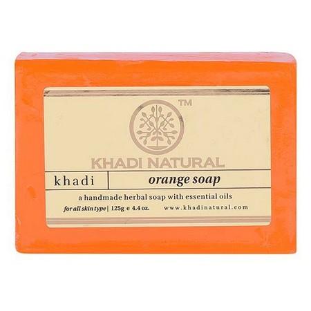 Khadi Herbal Orange Soap