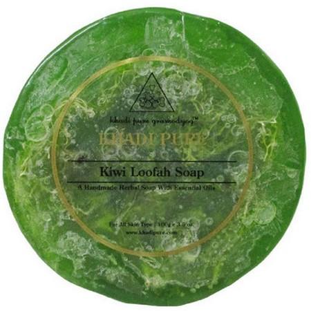 Khadi Kiwi Loofah Soap