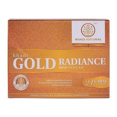 Khadi Natural Gold Radiance Facial Kit