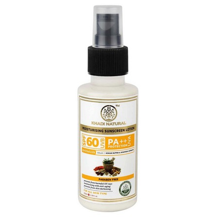 Khadi Natural Sunscreen Moisturising Lotion Spf 60