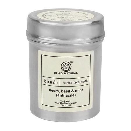 Khadi Neem Basil And Mint Face Pack Anti-acne