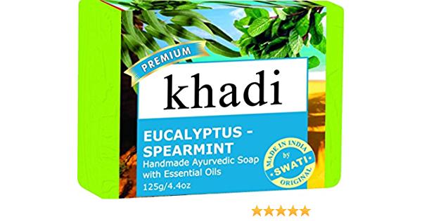 Khadi Premium Eucalyptus Spearmint Soap